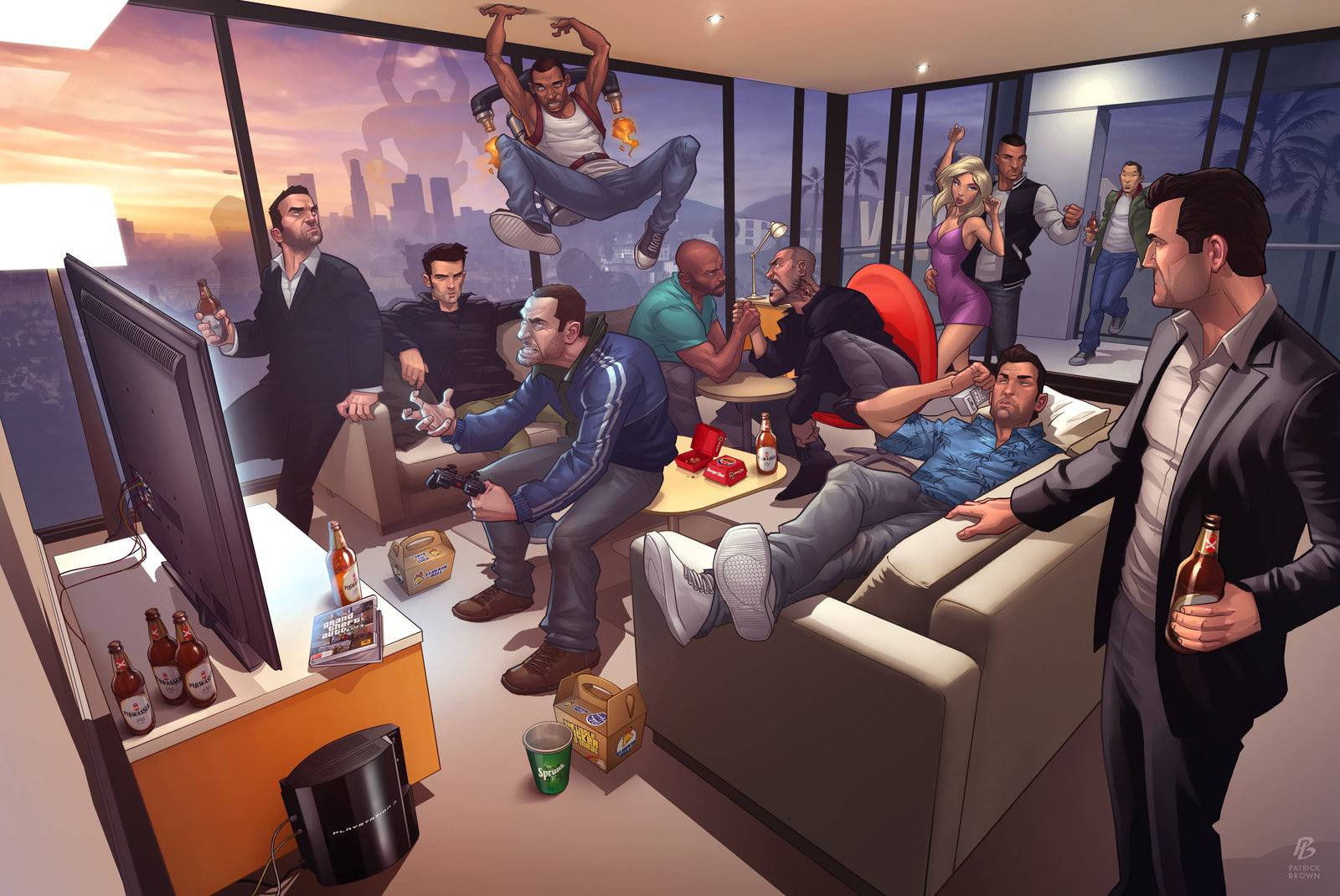 protagoniste de Grand Theft Auto: The Ballad of Gay Tony